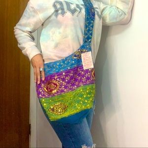 Urban Outfitters Vintage sSequin Hobo bag New